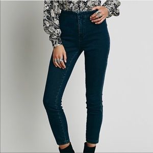 Free People Gwen High Rise Jeggings